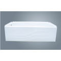Build-In Enamel Steel Bathtub With Apron
