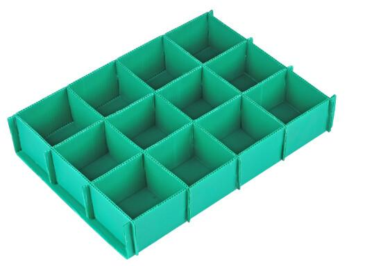 Corrugated Plastic Dividers