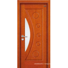 Wood door flat teak wood main door designs wood door 1 panel