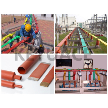 10KV Red Busbar Insultion Heat Shrink Tubing
