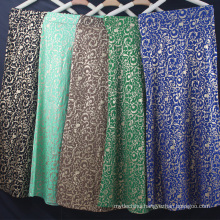 Hot selling summer dress hot stamping women causal dress ethnic muslim dress