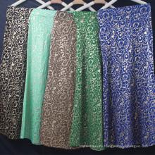 Горячий продавать летнее платье горячая штемпелюя женщины причинно платье этническое мусульманское платье