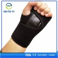 Leather silicone wrist brace custom strap support