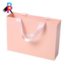 Diseño personalizado de logotipo impresión de buena calidad precio moderado bolsas de compras de China reciclable