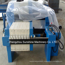 Cottonseed Oil Filter Plate and Frame Filter Press
