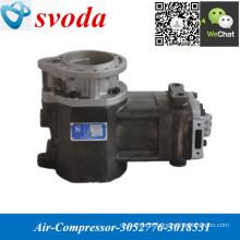 Compressor de ar 3052776/3018531 para o motor NT855 K19 K38 K50 K50 M11 do caminhão das peças da descarga de TEREX