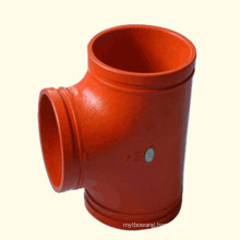 Ductile Iron Grooved Fire Fighting Fitting
