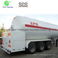 Conteneur de réservoir de liquide à gps avec 20,8 m3 de capacité totale de volume