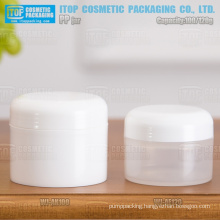 100ml and 120ml special recommended high quality smooth thread nice proportion round pp jars