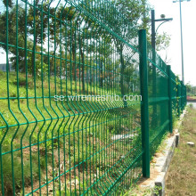 Park Fence-Beautiful PVC Coated Svetsat Wire Mesh Fence