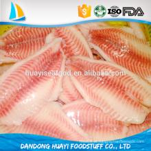 Granel de tilápia peixe congelado peixe grossista fornecedor