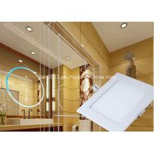 4W SMD2835 AC95-240V White Square LED Panel Light