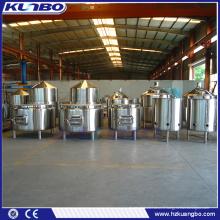 Unité de fabrication de brasserie de kits de vin de baril de vin d'acier inoxydable de KUNBO