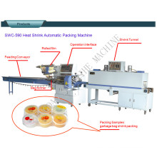 Pudding and Jelly Cup Automatic Shrink Packing Machine
