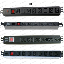 19 Inch IEC Type Universal Socket Network Cabinet and Rack PDU