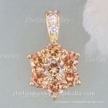 Forever vente chaude 18k plaqué or collier meilleur ami pas cher rhodium plaqué bijoux est votre bon choix