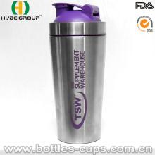 2016 neu Edelstahl Shaker Flasche (HDP-0599)
