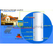Copper Heatpipe Closed Loop High Pressure Solar Water Heater