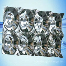 Electroplating Aluminum Plastic PC LED Lighting Cover