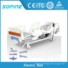 Medizinisches Fünf-funktioniges elektrisches Bett