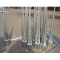 Galvanized Steel Fence Pole Anchor