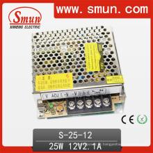 Smun 25W 12V Saída Única AC-DC Fonte de Alimentação