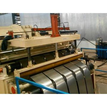 Máquina de corte longitudinal de alta velocidad del acero galvanizado del metal de la bobina de acero del cinc