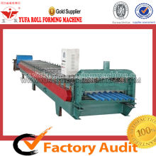 Membuat Gelombang Metal Roofing Corrugated Sheet Forming Machine