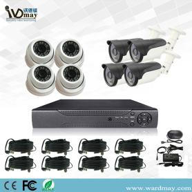 CCTV 8chs 2.0MP Security Surveillance Alarm DVR-systemen