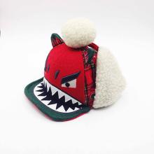 Sombrero único de los niños del invierno de la aleta de la aleta del oído caliente (ACEW108)