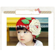 Casquillo del bebé / sombrero del bebé / gorra hecha punto / ganchillo de la mano