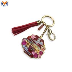 Make metal custom beautiful keychain design