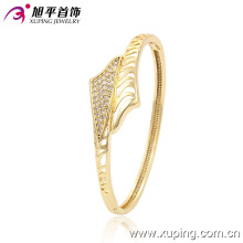 New 14kgold- Plated Charming Cubic Zirconia Bangle