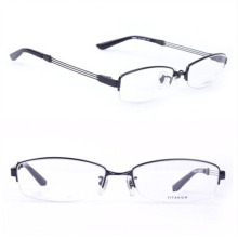 Ry Titanium Оригинальные очки с половиной оправы Фирменное наименование Рамки (Ry8684)