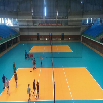 FIVB Disetujui PVC Volleyball Flooring