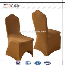 Verschiedene Farbe erhältlich Hochzeit verwendet Günstige Fancy Spandex Stuhl Abdeckungen