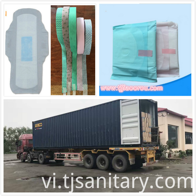 winged sanitary napkin