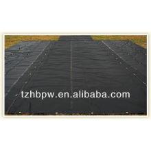 reinforced black PVC tarp