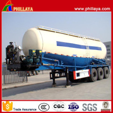 45tons Bulk Cement Tank Truck Semi Trailer Flour