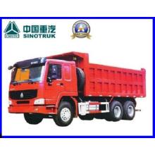 290HP Cnhtc / Sinotruk Heavy Duty HOWO 6 X 4 Caminhão basculante / Camião basculante / Caminhão basculante / caminhão de despejo / camião em camião (Zz3257m32