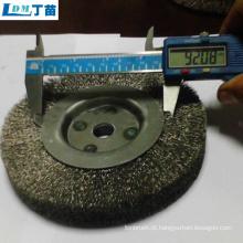 escova de roda abrasiva para eliminação de poeira