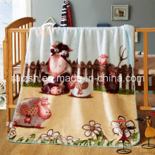 Double Four Seasons Decke Coral Fleece Kinderdecke