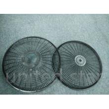 2015 nouveau ventilateur électrique de support de bâche de la grille pp de 18 pouces en plastique