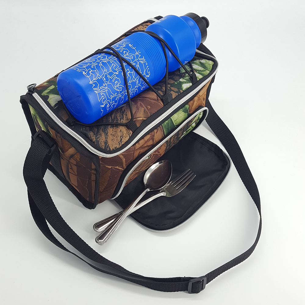 Camouflage Printing Shoulder Carry Meal Management Bag