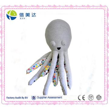 Creative DIY Plush Buttons Octopus Toy