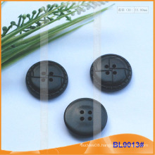4 Holes Imitation Leather Button Coat Button BL9013