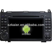 Lecteur DVD de voiture pour système Android Benz B200