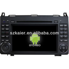 Android System car dvd player for Benz B200 with GPS,Bluetooth,3G,ipod,Games,Dual Zone,Steering Wheel Control