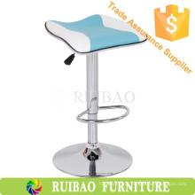 Modern Kitchen Counter Bar Stools Leather Bar Stool Saddle Seat cadeira alta