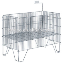 Durable wire mesh containers/ stainless wire /welded wire mesh panel